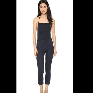 Free people Denim jumpsuit XS